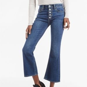 Lucky Brand High Rise Bridgette Cropped Flare Jean